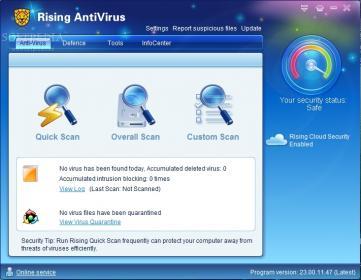 اضغط على الصورة لعرض أكبر  الاســـم:Rising-Antivirus-Free-Edition_1.jpg المشاهدات:102 الحجـــم:19.1 كيلوبايت الرقم:611