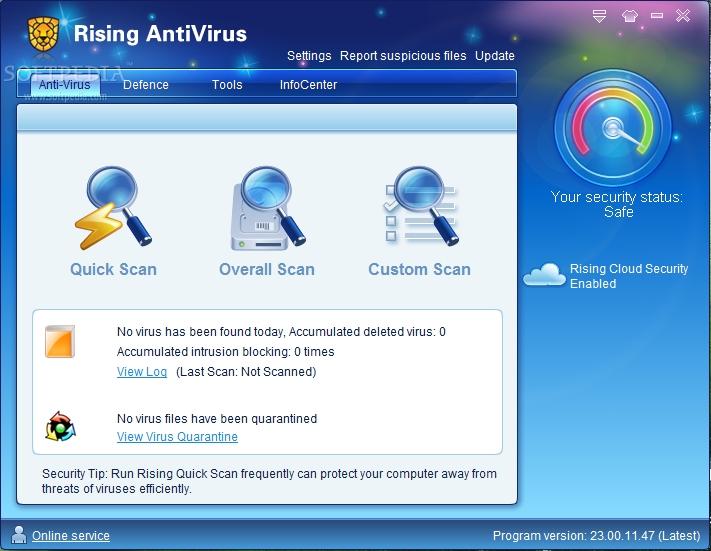 تحميل برنامج  Rising Antivirus Free Edition 23.00.59.96 لمكافحة الفيروسات وحماية جهازك 156_107794f8d56b681e24