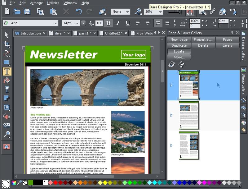Xara Web Designer 7 premium Templates free Download