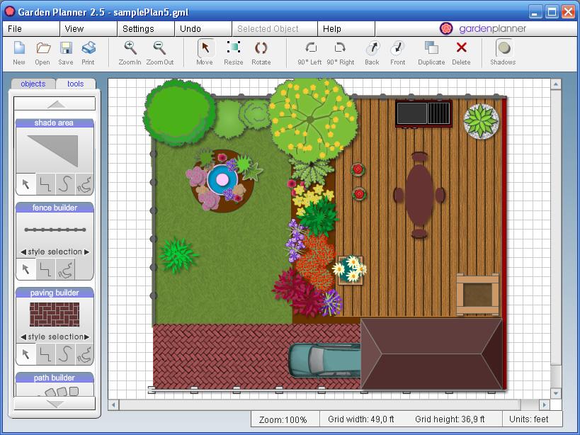 Garden planner - Programa diseno de jardines ...