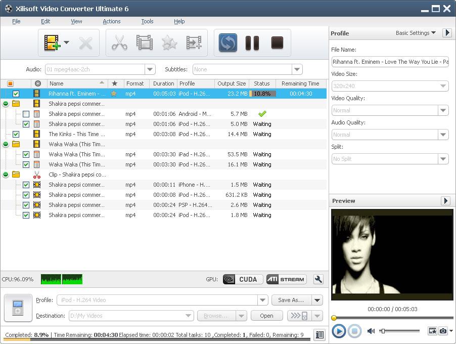 Xilisoft video converter 6.6.0.0623 ultimate crack